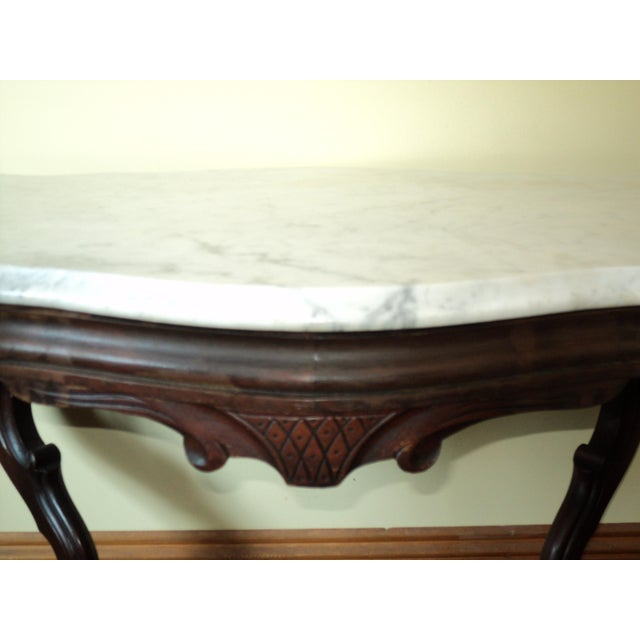 Marble Antique Victorian Top Turtle Shaped Dog Table For Image 7 Of 11