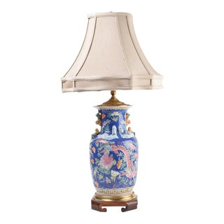 Asian Inspired Ceramic Lamp