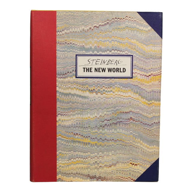 Saul Steinberg: The New World, First Edition For Sale