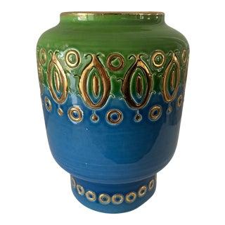 Vintage 1950s Aldo Londi for Bitossi-Rosenthal Vetter Vase For Sale