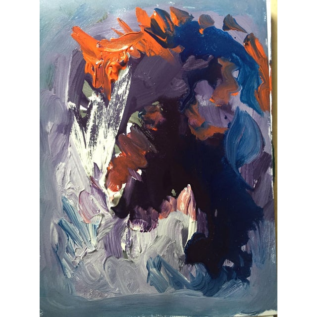 Abstract Expressionism Abstract Modern Contemporary Acrylic Painting For Sale - Image 3 of 3
