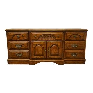 Sumter Cabinet Windsor Hall Collection Solid Oak Triple Dresser For Sale