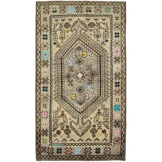 """Vintage Persian Malayer Rug – Size: 2' 9"""" X 4' 11"""" For Sale"""