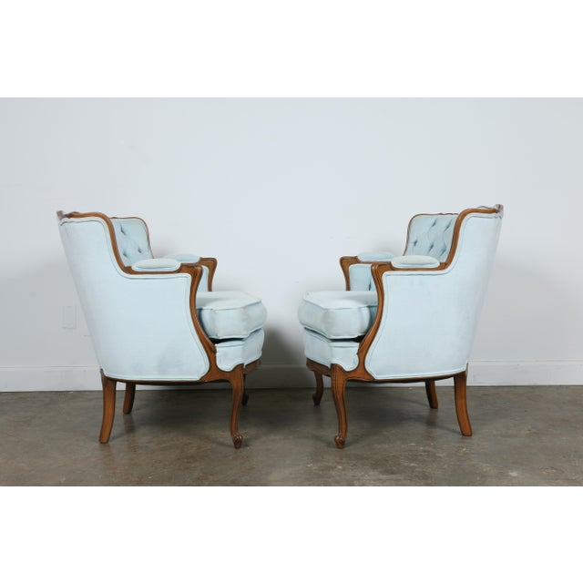 Italian-Style Chairs in Baby Blue - A Pair - Image 11 of 11