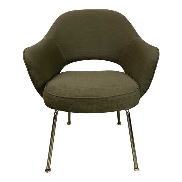 Executive Arm Chair Attributed to Eero Saarinen for Knoll For Sale