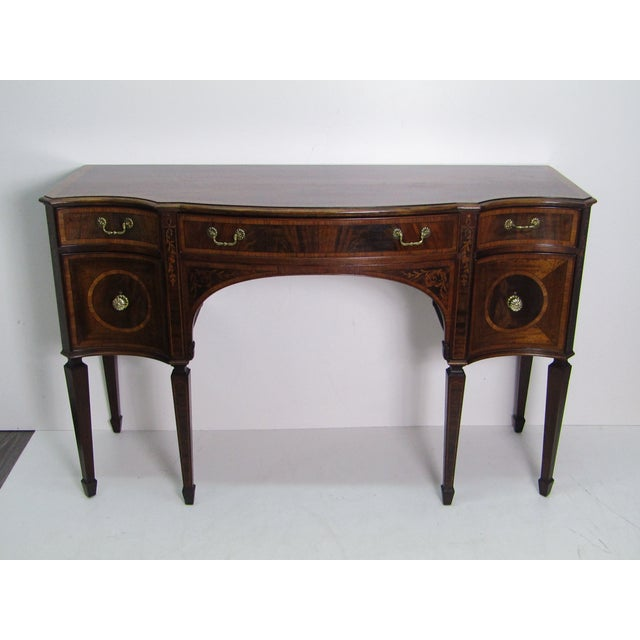 1960s Hepplewhite Sideboard/Credenza For Sale - Image 9 of 13