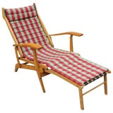 Image of Italian Chaise Lounge For Sale