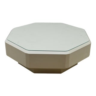 Lorin Marsh Octogonal Coffee Coctail Table For Sale