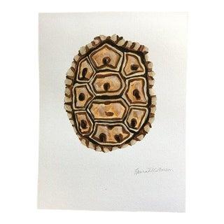 Modern Tortoise Original Painting by Hannah McPherson For Sale