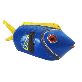 Bozo Mali Wood Fish