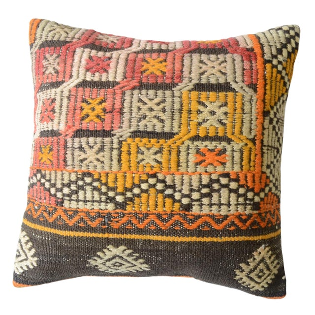 Pasargad Vintage Turkish Kilim Pillow - Image 1 of 2