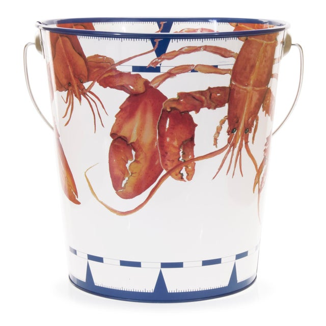 Modern Large Pail Lobster - 3 gallons For Sale - Image 3 of 3