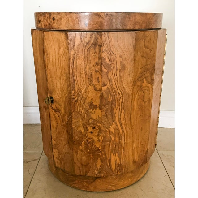 Edward Wormley for Dunbar Burl Wood Bar Cabinet - Image 7 of 7
