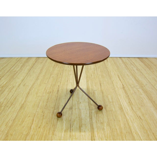 "1950s Larssons Möbelfabrik ""Table in a Jar"" Side Table For Sale - Image 4 of 13"