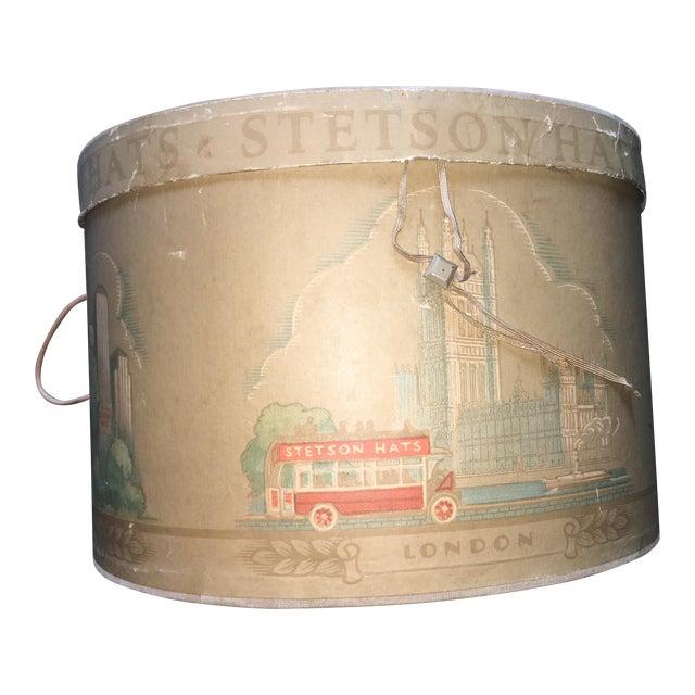 e71c0b7567e45d Vintage Stetson Hat Box   Chairish