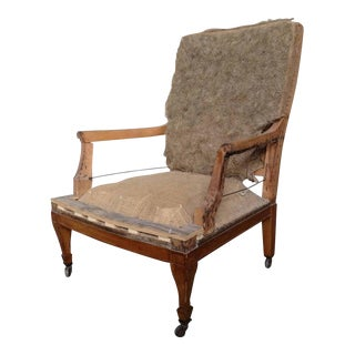 Napoleon III Armchair Frame For Sale