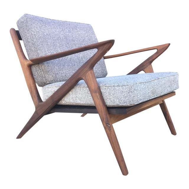 Mid-Century Modern Z Chair For Sale