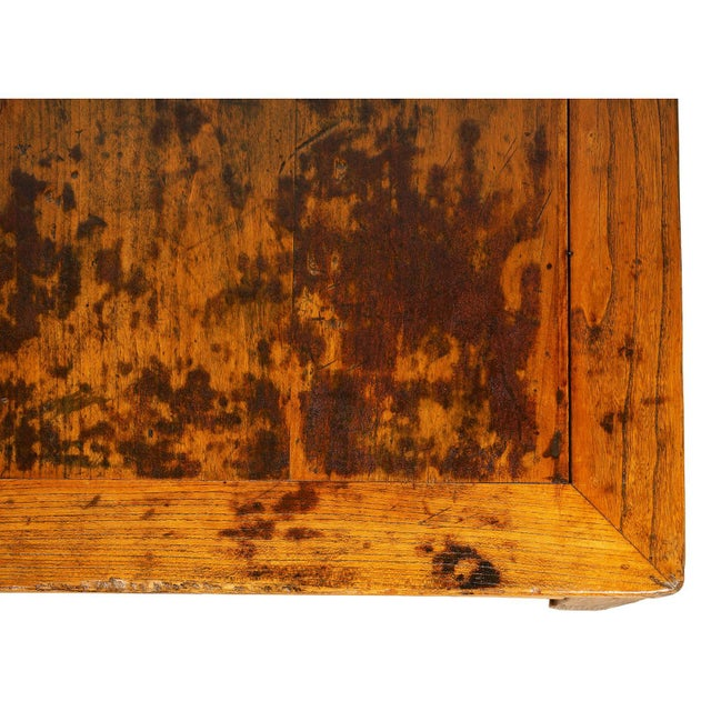 Late 19th Century Antique Chinese Carved Kang Table/Coffee Table For Sale - Image 5 of 12