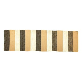 Swedish Handwoven Rug - 2′4″ × 8′5″ For Sale