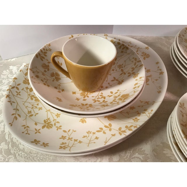 Sheffield Golden Meadow Ironstone Set - 30 Pieces For Sale - Image 5 of 11