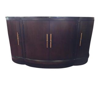 Modern Bernhardt Brown Buffet For Sale