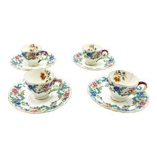 Art Deco English Royal Cauldron Tea Service Set - 8 Piece Set For Sale