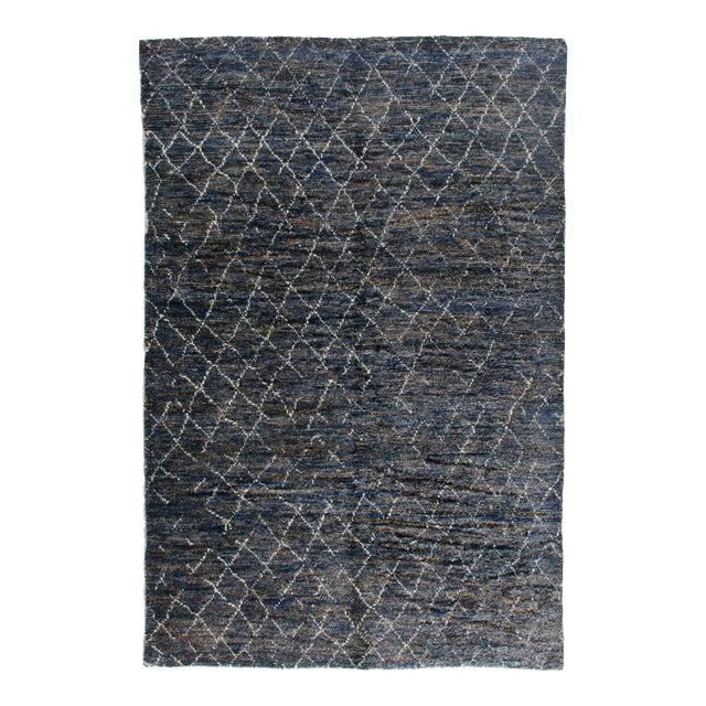 "Stark Studio Rugs Kitto Rug in Navy Blue/White, 10'0"" x 14'0"" For Sale"