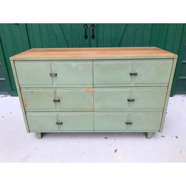 Antique Primitive-Style Six Drawer Dresser For Sale - Image 13 of 13