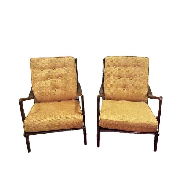 Danish Mid-Century Modern Lounge Chairs - A Pair For Sale