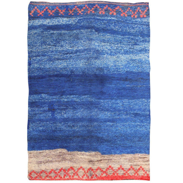 Vintage Moroccan Rug - 6′ × 8′9″ For Sale - Image 11 of 11