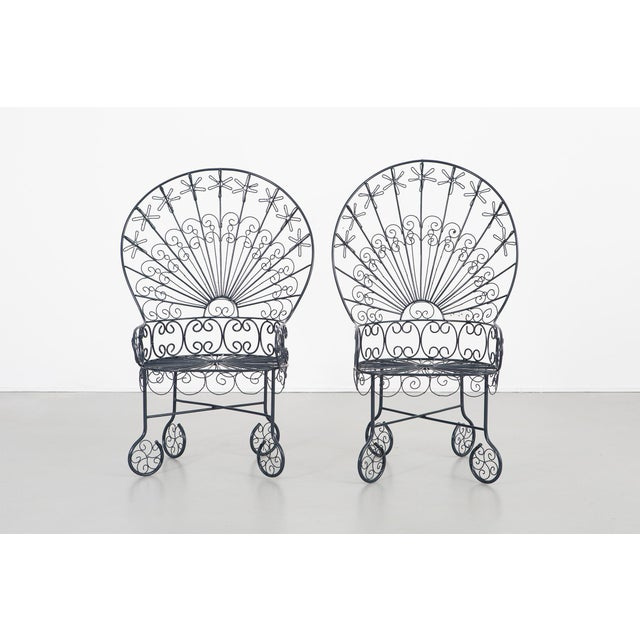 Set of Salterini Peacock Chairs - a Pair For Sale - Image 12 of 12