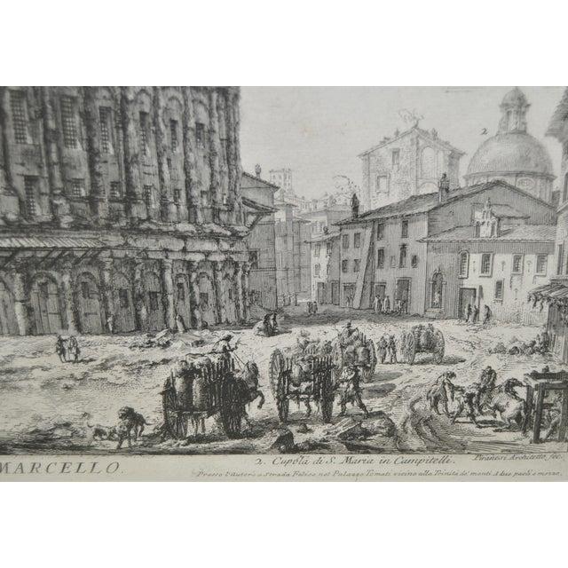 Giovanni Piranesi (1720–1778) 18th C. Engraving - Image 6 of 7