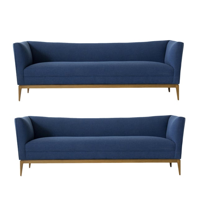 Paul McCobb for Directional pair of Settees For Sale
