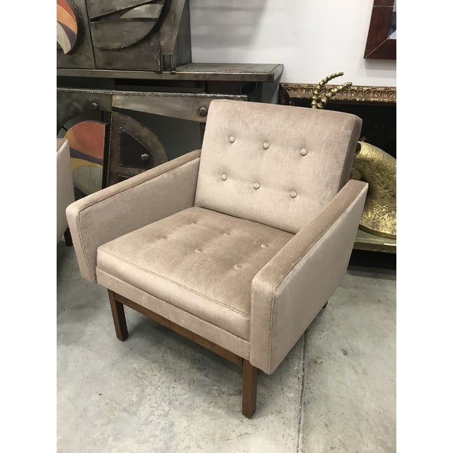 Mid-Century Modern 1970s Vintage Danish Club Chairs- A Pair For Sale - Image 3 of 12