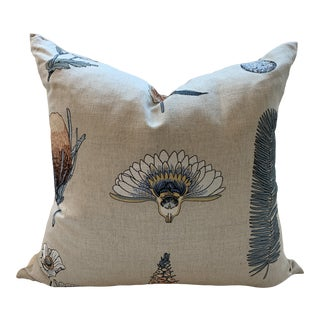 Contemporary Pollack Embroidered Custom Pillow For Sale