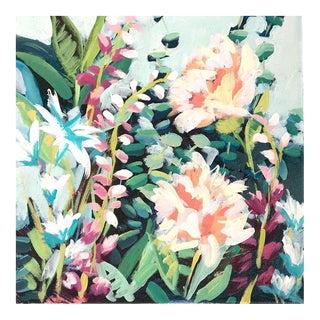 "Contemporary Flower Original Painting ""Garden 6"""