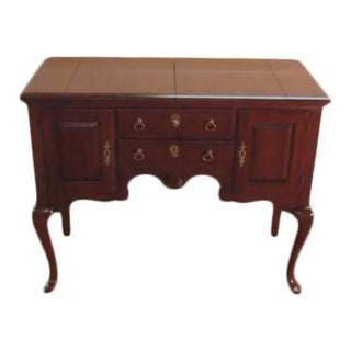 Pennsylvania House Solid Cherry Flip Top Server For Sale