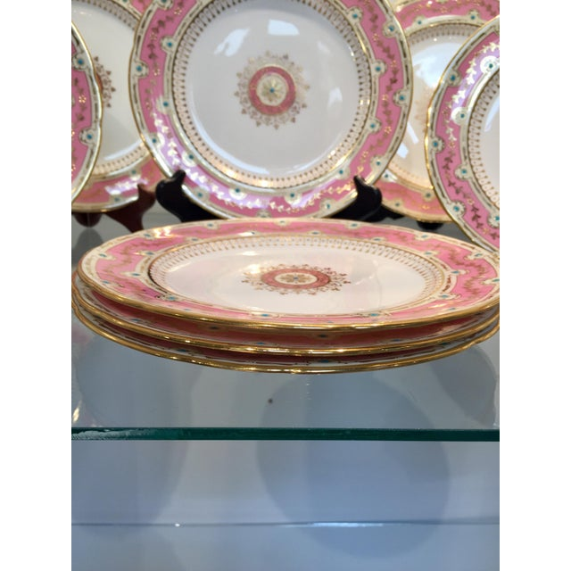 1900s Early 20th Century Antique Minton for Tiffany Plates - Set of 12 For Sale - Image 5 of 9