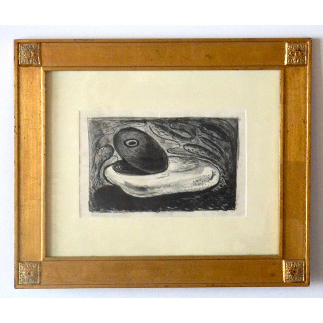 Emerson Woelffer Graphite on Paper, 'Rock Formation' C 1950s For Sale In Los Angeles - Image 6 of 6
