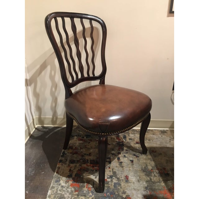Mahogany Dining Chair by Theodore Alexander For Sale - Image 9 of 13