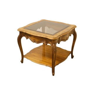 Late 20th Century Vintage Thomasville Furniture French Court CollectionEnd Table For Sale