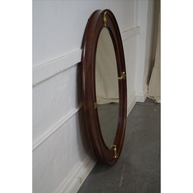 Art Deco Bob Mackie American Drew Art Deco Mirror For Sale - Image 3 of 10