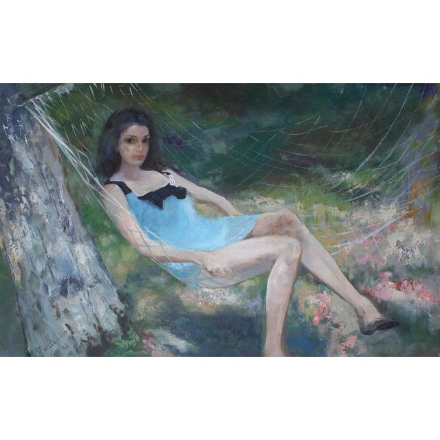 """Girl in Blue Dress"" - Image 1 of 2"