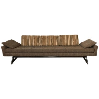 Adrian Pearsall for Craft Associates Large Gondola Sofa For Sale