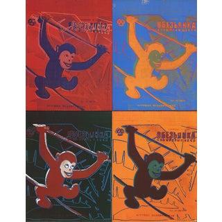 Andy Warhol-Four Monkeys (Lg)-1990 Poster