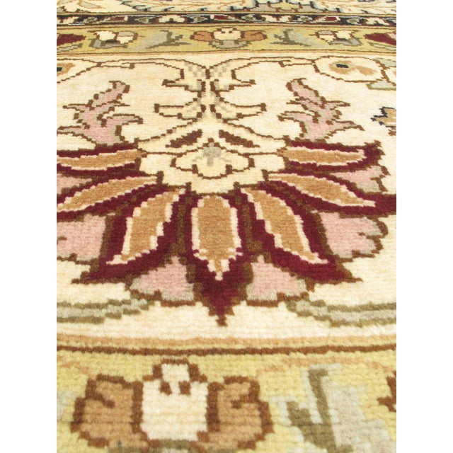 """Boho Chic Classic Hand-Knotted Rug, 9'2"""" X 12'0"""" For Sale - Image 3 of 3"""