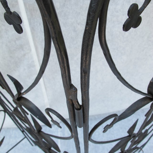 Early 20th-C. Wrought Iron Screen - Image 6 of 9