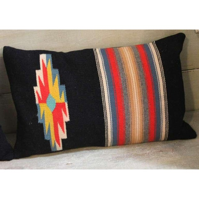 Pair of Rio Grande Vallero Woven Pillows For Sale - Image 4 of 5