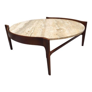 Antique Designer Walnut Decaso - Fire-coffee-table-by-axel-schaefer