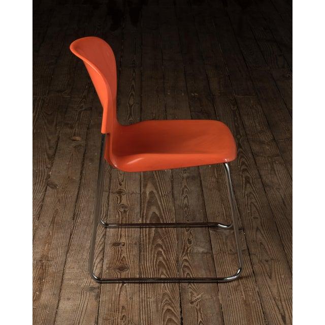 "1976 Vintage Gerd Lange ""Swing Chairs"" - Set of 6 For Sale In Philadelphia - Image 6 of 13"